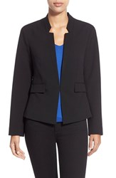 Petite Women's Ellen Tracy Fitted Reverse Lapel Blazer