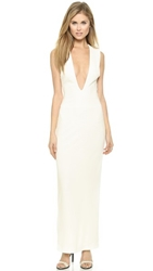 Aq Aq Viena Maxi Dress Cream