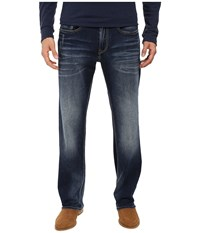 Buffalo David Bitton Driven Relaxed Straight Leg Jeans In Contrast Vintage Contrast Vintage Men's Jeans Blue