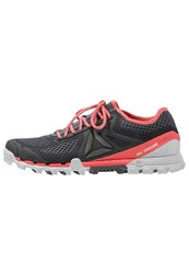 Reebok All Terrain Super 3.0 Trail Running Shoes Ash Grey Skull Grey Fire Coral Pewter Vitamin C