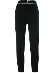 Fausto Puglisi Straight Trousers Black