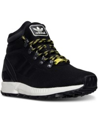 Adidas Men's Zx Flux Leather Boots From Finish Line Black Black Vintage White