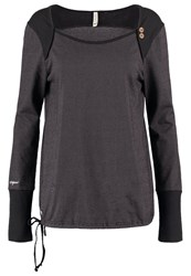 Ragwear Mike Long Sleeved Top Black