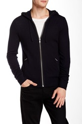 The Kooples Hooded Wool Blend Cardigan Multi