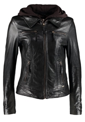 Freaky Nation Cutie Leather Jacket Black