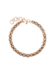 Starrs London 'Chain Mala Statement' Choker Metallic