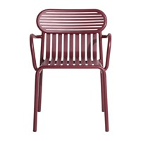 Petite Friture Week End Bridge Chair Red