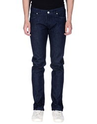 Cc Collection Corneliani Denim Pants Blue