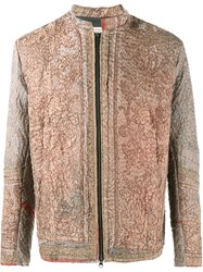 By Walid Embroidered Jacket Brown