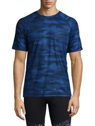 Mpg Camouflage Pace Tee Blue Camo