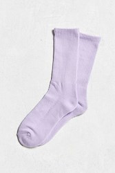 Urban Outfitters Solid Sport Sock Lavender
