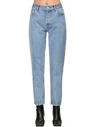 Balenciaga Carrot Cotton Denim Jeans