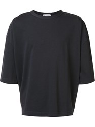 Willy Chavarria Oversized T Shirt Black