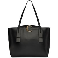 Chloe Black Medium C Tote