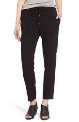 Women's Eileen Fisher Drawstring Organic Cotton Ankle Pants