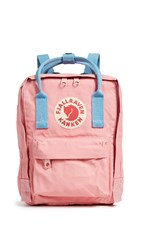 Fjall Raven Fjallraven Kanken Mini Backpack Pink Air Blue
