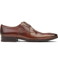 Kurt Geiger Fabio Leather Derby Shoes Tan