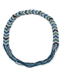 East Chevron Bead Necklace