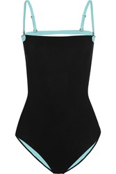 Alexander Wang Two Tone Bonded Swimsuit