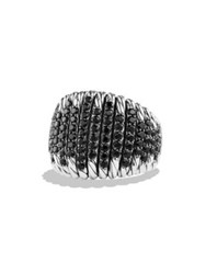 David Yurman Tempo Ring With Black Spinel
