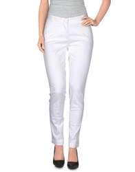 Heavy Project Casual Pants White