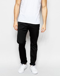 Edwin Jeans Ed 55 Relaxed Tapered Cs Ink Black Rinsed
