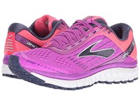 Brooks Ghost 9 Purple Cactus Flower Diva Pink Patriot Blue Women's Running Shoes