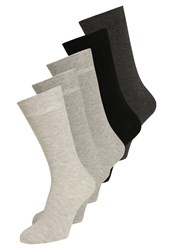 Zalando Essentials 5 Pack Socks Grey
