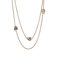 Monique Pean Diamond Slice Necklace