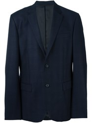 Joseph 'Davide Check' Jacket Blue