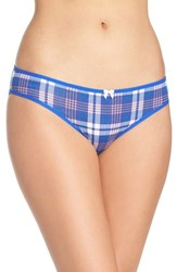 Betsey Johnson Women's Hipster Briefs Mad For Plaid