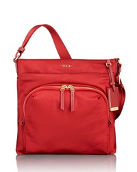Tumi Capri Crossbody Bag Crimson