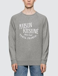 Maison Kitsune Palais Royal Sweatshirt Grey