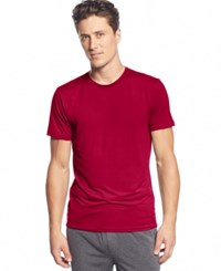 32 Degrees By Weatherproof Crew Neck T Shirt Berry