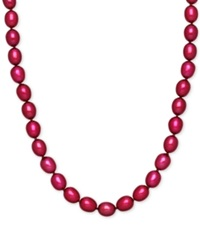 Honora Style Cherry Cultured Freshwater Pearl Necklace In Sterling Silver 7 8Mm