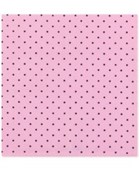 Tommy Hilfiger Men's Dot Print Pocket Square Pink