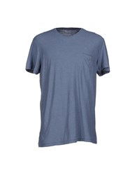 Jfour Topwear T Shirts Men Slate Blue