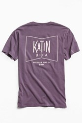 Katin Cloud Wash Tee Blue
