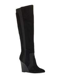 Report Signature Islah Knee High Boots Black