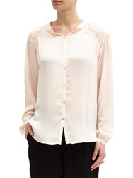 Ghost Sybil Blouse Pale Pink