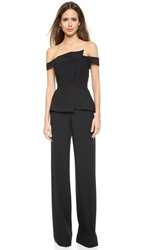 Black Halo La Reina Jumpsuit Black