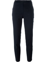 Cacharel High Waisted Trousers Blue