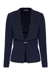 James Lakeland Large Lapel Jacket Black