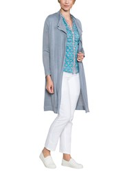 East Drape Front Cardigan Dove