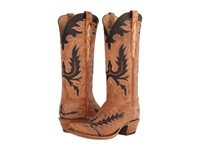 Lucchese L4741.S54 Destroyed Pearwood Tan Cowboy Boots Brown