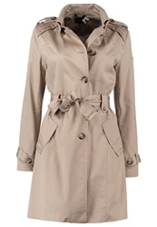 Comma Trenchcoat Beige