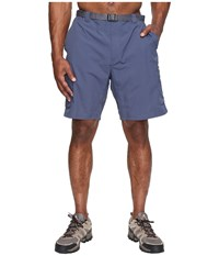 Columbia Big Tall Silver Ridge Cargo Short 42 54 Zinc Voltage Men's Shorts Blue
