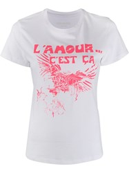 Zadig And Voltaire Azedi Amour T Shirt 60