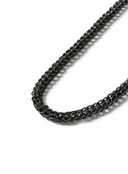 Topman Grey Gunmetal Look Chunky Chain Necklace