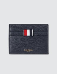 Thom Browne Classic 4 Bar Stripe Cardholder Black